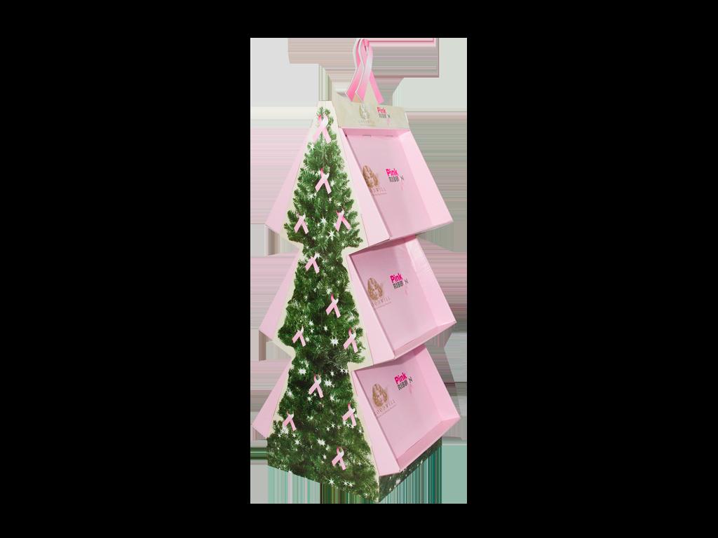 Floor display voor Pink Ribbon