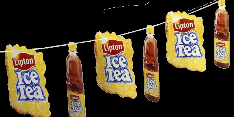 Plafondhangers Lipton Ice Tea